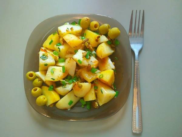 Картофель по-марокански