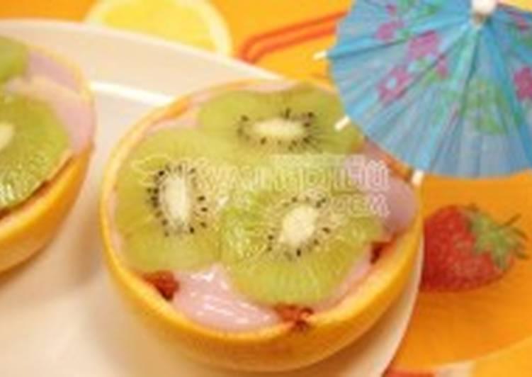 Салат «Грейпфрутовый Ньюбург»