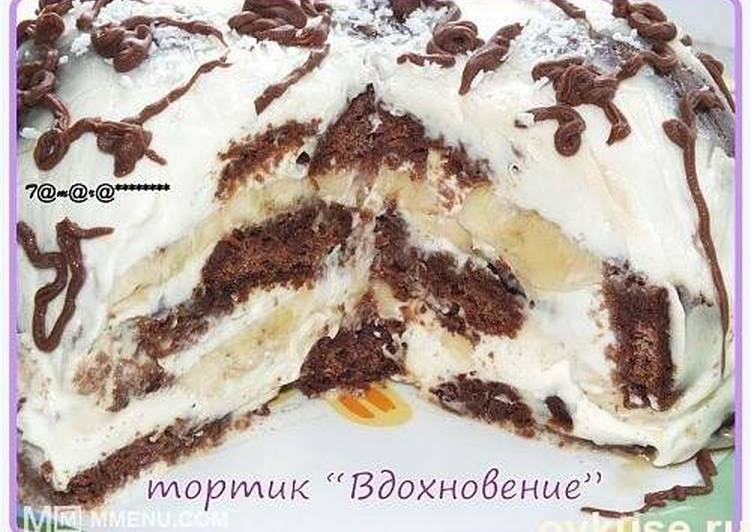 "Торт ""вдохновение"" (без выпечки)"