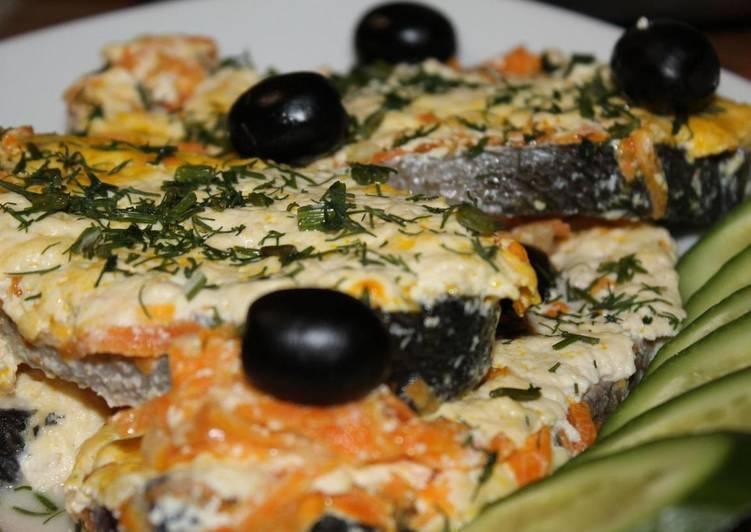 Запеченная семга в сливках, простой рецепт семги в сливочном соусе
