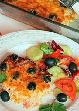Тунец с помидорами и маслинами «Клауфути» по-французски