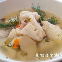Ниццский суп из морской рыбы #чемпионатмира#франция
