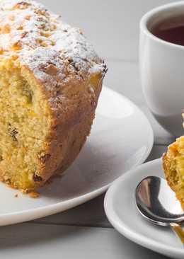 Такого вкусного кекса вы еще не пробовали! Восхитительный апельсиновый кекс с изюмом