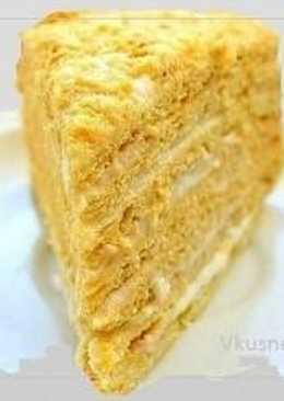 Торт медовик «Рыжик »-