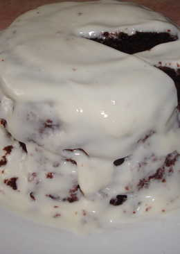 Шоколадный бисквит в микроволновке за 3 минуты