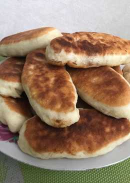 Пирожки жаренные с картошкой и луком