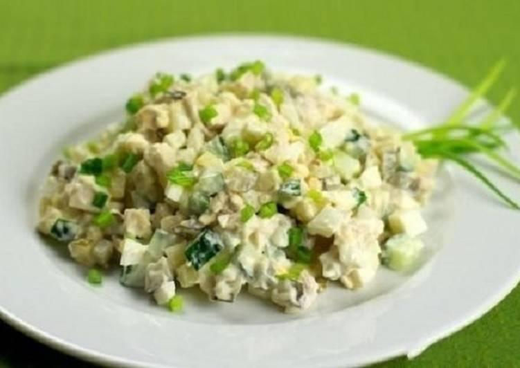 Фитнес-«Оливье»: ешьте хоть каждый день