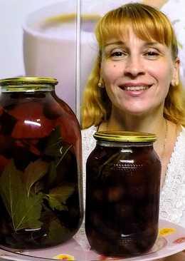 Компот из черешни на зиму фирменный рецепт заготовки и консервации без стерилизации