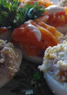 Закуска из яиц и селедки.Праздничная Закуска