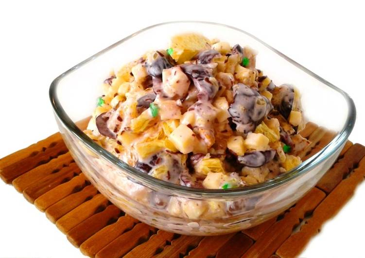 Салат безумно вкусный из несовместимых продуктов recipe main photo