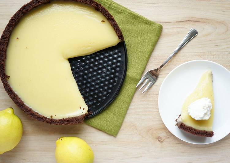 Лимонный пирог (без выпечки)