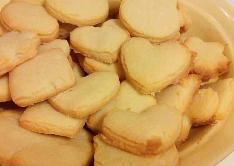 Рецепт печенья на песочном тесте
