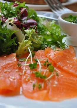 Засолка красной рыбы в домашних условиях - рецепт
