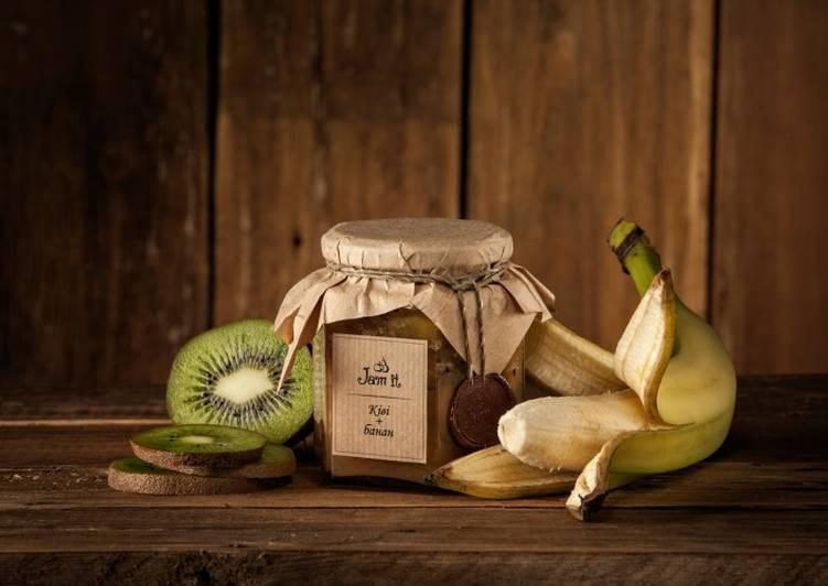 Варенье из киви и банана