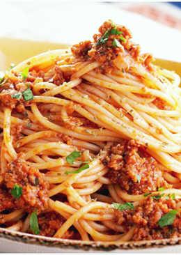 Спагетти Болоньезе по-домашнему