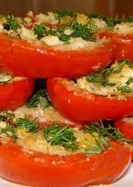 Закусочные помидоры с хлебом и сыром (с итальянским акцентом)