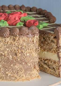 Киевский торт в домашних условиях. Супер торт на Новогодний стол
