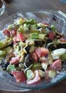 Салат из печенных овощей #пп
