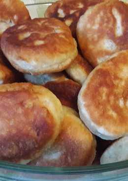Нежнейшие пирожки с картошкой (очень тонкое, мягкое тесто)