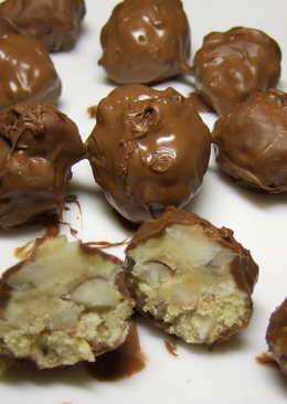 Шоколадно-ореховые гроздья от SvetaBlanka