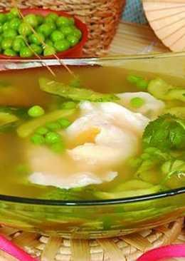 Японский огуречный суп