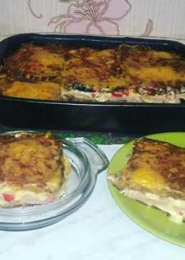 Идеальный горячий бутерброд или закрытая пицца