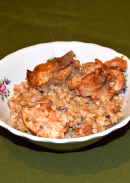 Гречка с мясом запеченная в духовке. Ароматное и вкусное блюдо