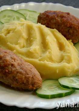 Котлеты с картофельным пюре в скороварке (2 в 1)