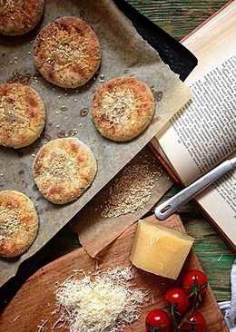 Сырники из духовки с копченым сыром