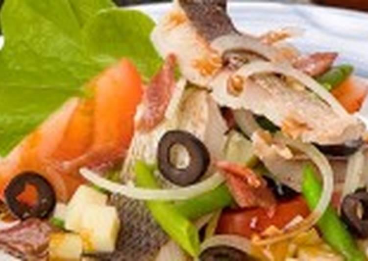 Салат рыбный по-итальянски
