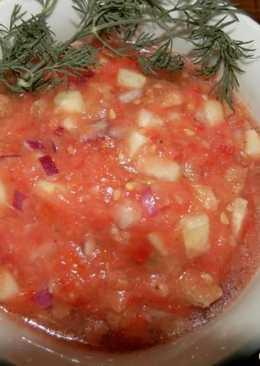 """Испанский холодный суп """"Гаспачо"""""""