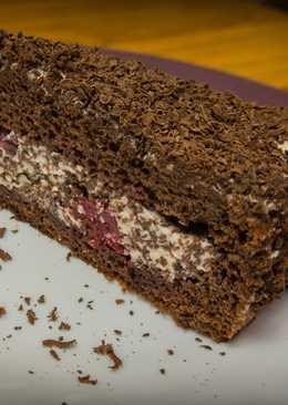 """Рецепт домашнего торта """"Пьяная вишня"""" - ну Оочень вкусный торт"""