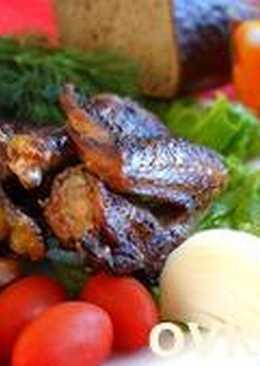 Домашняя курица-гриль в ароматном маринаде
