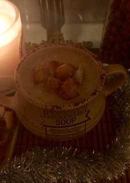 Персидский суп-пюре с чечевицей