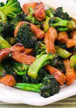 Азиатская кухня: Курица с броколли по-китайски