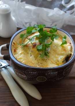 Картофель, запеченный с рыбой
