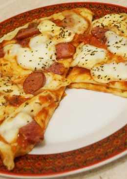Блины + Пицца. (Блинпицца, Блинницца, Блинная пицуля)