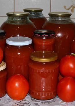 Вкуснейший томатный сок! делаем дома