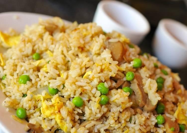 Рис с омлетом по китайски