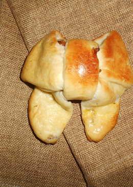 Сдобные булочки Бантики