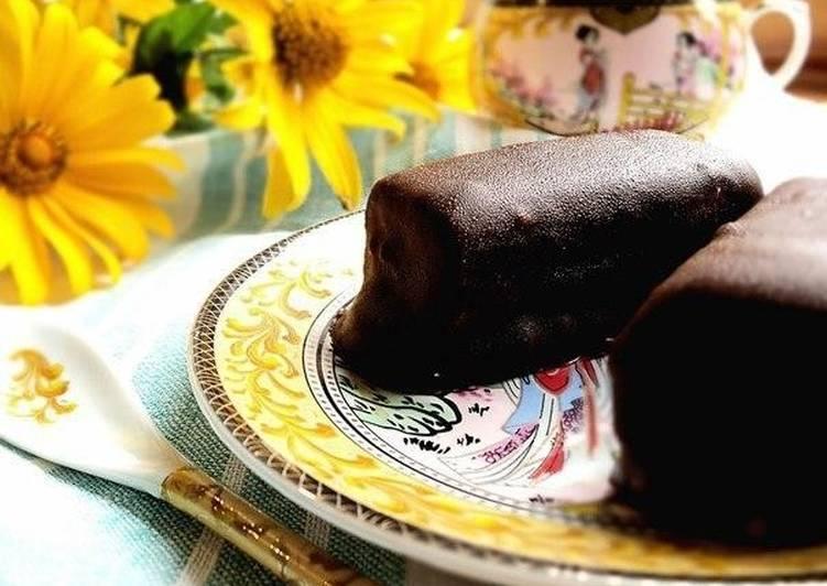 печенья глазированные шоколадом рецепт