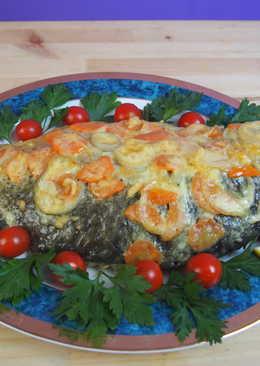 Праздничное блюдо из карпа + домашний майонез
