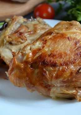 Куриное стегно в соевом соусе