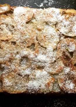 Яблочный пп пирог