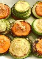 Яркая закуска из кабачков и морковки #ПП