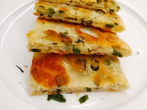 Лепешка Катлама с зеленым луком