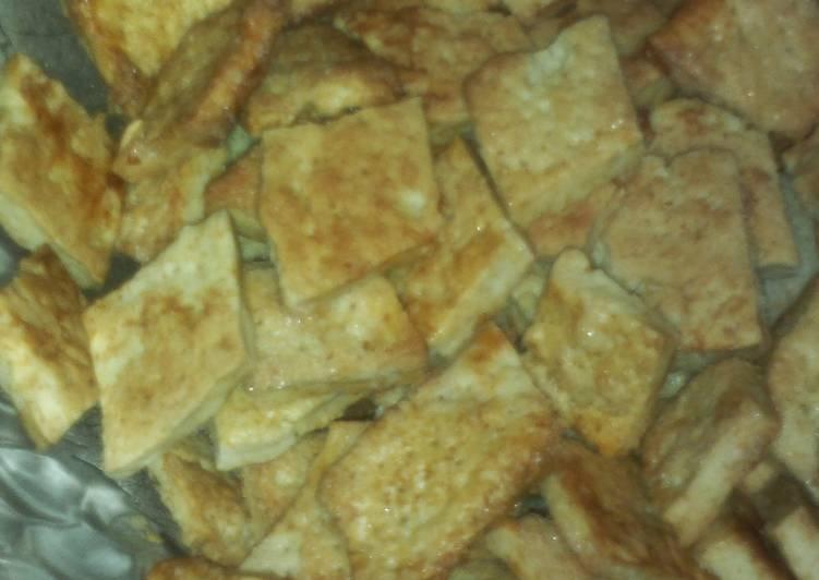 Домашнее печенье на сметане без сахара