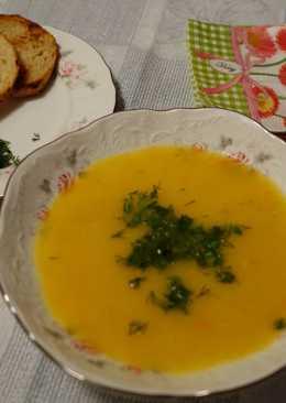 Суп-пюре овощной с огуречным рассолом