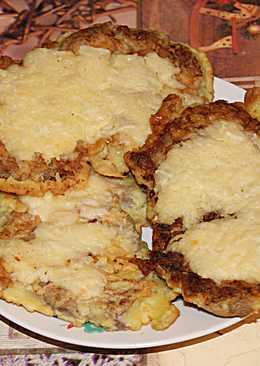 Отбивные с сыром