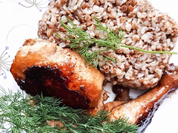 Курица в соево-медовом маринаде